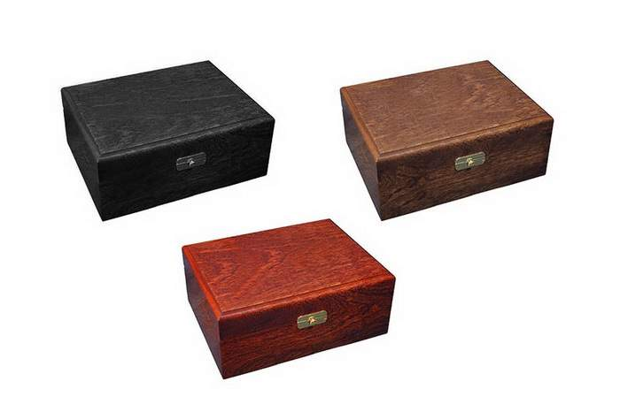 MJ Wooden Fun Box - Blackwood Ebony, Brownwood Teak, Bloodwood Mahogany