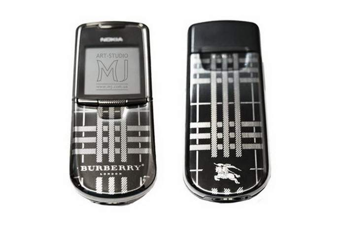 MJ Great Mobile Phone - Nokia 8800 Burberry Limited Edition