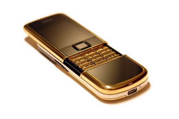 MJ Single Copy Mobile Phone - Nokia 8800 Arte Gold Keyboard