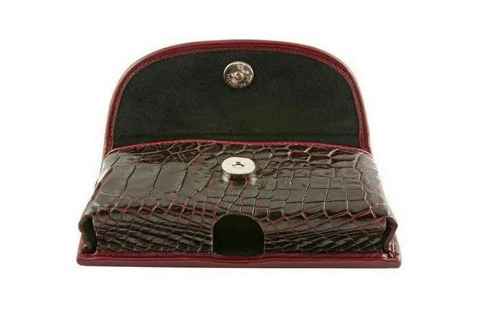 MJ Unique Mobile Case - Bag, Genuine Leather - Crocodile Alligator