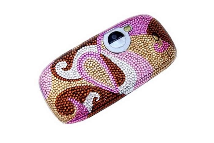 MJ Swarovski Cell Phone - Decorate Austrian Crystal