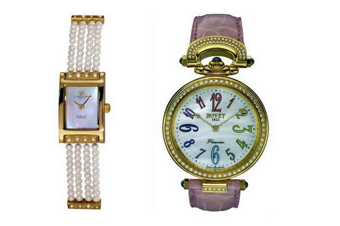MJ Super Watch Limited Edition - Pearl, Gold, Diamond, Crocodile Leather...