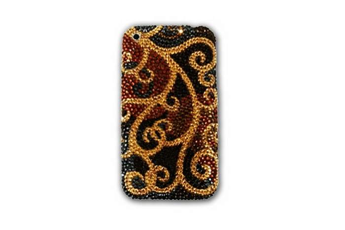 MJ Swarovski Mobile Phone Single Copy - Apple iPhone 4G 128gbm Inlaid Strass