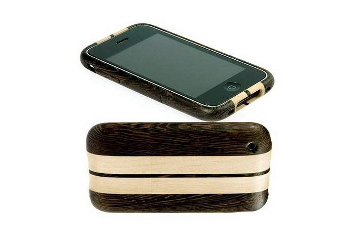 MJ King Wood Mobile Phone Edition - Apple iPhone Wood Cobra Edition