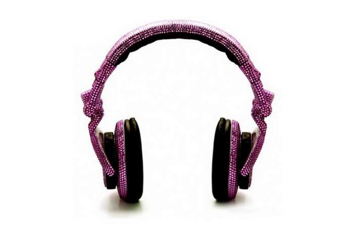 MJ Luxury Headphone - Decorate Gems