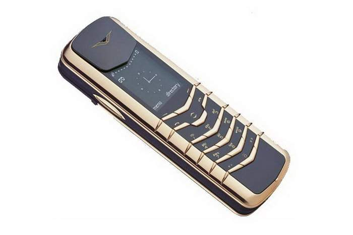 MJ Millionaires Phone - Vertu Signature Unique Gold 888